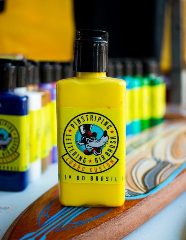 Tinta para pinstriping - amarela