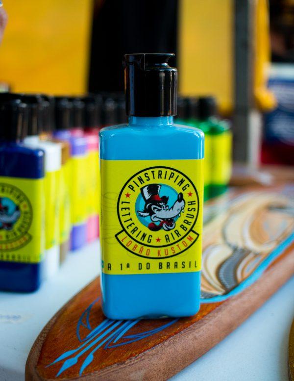 Tinta para pinstriping - azul claro