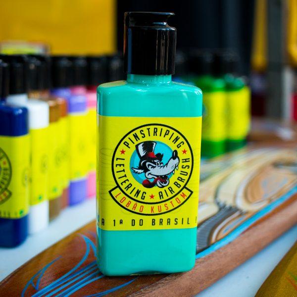 Tinta para pinstriping - verde agua
