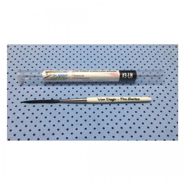 Pincel Mack Von Dago – Pro Series Lite Saber Lh 3 para Scrolling